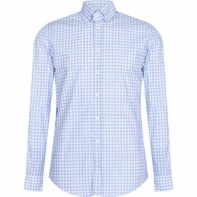 ハケット Hackett メンズ シャツ トップス Gingham Check Shirt Blue/WhiteAR