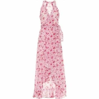 プーペット セント バース Poupette St Barth レディース ワンピース ミドル丈 ワンピース・ドレス Tamara floral cotton midi dress Pin