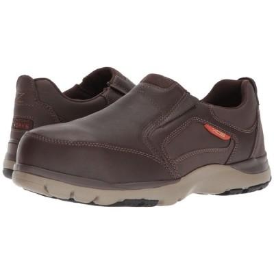 ロックポート Rockport Works メンズ シューズ・靴 Kingstin Work Dark Brown