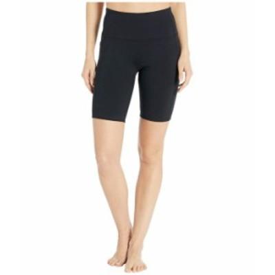 スケッチャーズ レディース ハーフパンツ・ショーツ ボトムス Go Walk Go Flex Bike Shorts with Side Pockets - 8 Inch Black