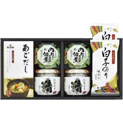 内祝い 内祝 お返し ヤマキ 瓶詰 のり バラエティ ギフト セット 詰合せ GIJ-30 (15)