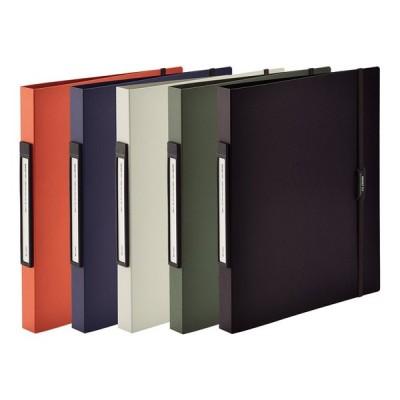 リングファイル ツイストリング クリップファイル ファイリング クリアケース ファイル バインダー 書類整理 卓上 机の上 整理 収納 雑貨 SMART FIT セール