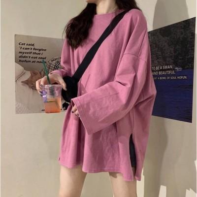 レディースファッショントップス レディースTシャツ カットソー 韓国ファッションレディース 韓国ファッション ワンピース 韓国ファッション tシャツ 1122