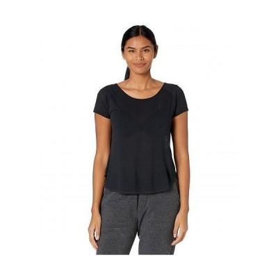 Craft レディース 女性用 ファッション アクティブシャツ Core Charge Cross-Back Tee - Black