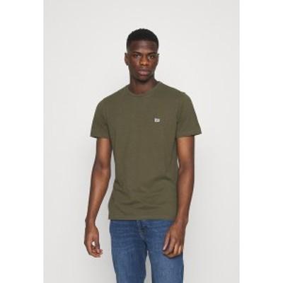 リー メンズ Tシャツ トップス SODA TEE - Basic T-shirt - olive green olive green
