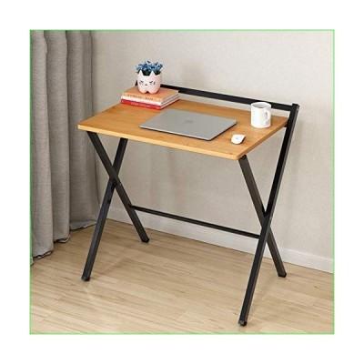 折り畳み式 パソコンデスク 小さいスペースのため, パソコンデスク 2 つの層の棚を使って ホーム オフ