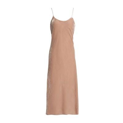 ティビ TIBI 7分丈ワンピース・ドレス ベージュ 10 レーヨン 82% / シルク 18% 7分丈ワンピース・ドレス