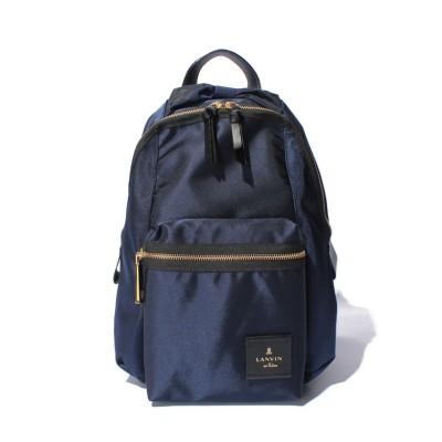 【ランバンオンブルー(バッグ)】 LANVIN en Bleu トロカデロ リュックサック レディース ネイビー F LANVIN en Bleu(BAG)