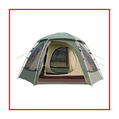 ZYM Family Camping Tents Camping Tent 4 Person Easy Set Up with Big Mesh Windows Waterproof Double Layer Instant Tent for Family Hiking Outd