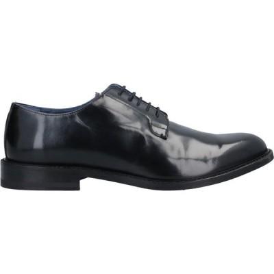 RUE 51 メンズ 革靴・ビジネスシューズ シューズ・靴 Laced Shoes Black
