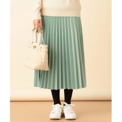 【エニィスィス/any SiS】 【洗える】ニットジャガードプリーツ スカート