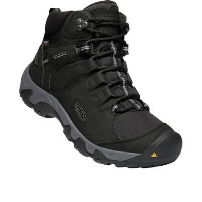 キーン(KEEN)トレッキングシューズ ハイカット 登山靴 スティーンズ ミッド ウォータープルーフ シンセティック 1022747