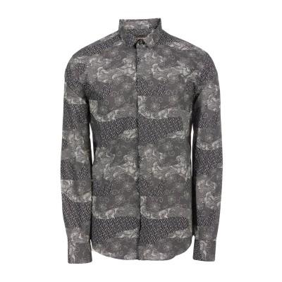 エンポリオ アルマーニ EMPORIO ARMANI シャツ ブラック 39 コットン 100% シャツ