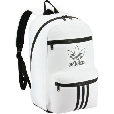 アディダス adidas ユニセックス バックパック・リュック バッグ Originals National 3-Stripes Backpack White