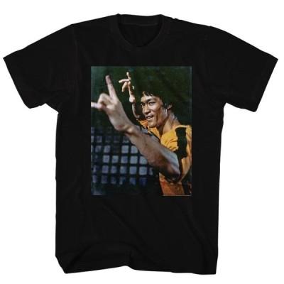 Tシャツ ブルースリー Bruce Lee Yellow Suit Licensed Adult T Shirt