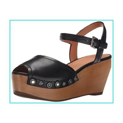 Sigerson Morrison Women's Cailey Platform Sandal, Black, 8【並行輸入品】