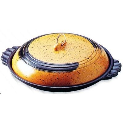 アルミ 大型陶板(かすが)小 シリコンフッ素 品番:20152 陶板焼き料理に 代引不可商品です。
