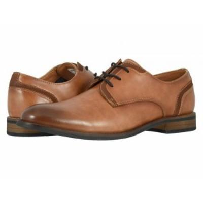 Dockers ドッカーズ メンズ 男性用 シューズ 靴 オックスフォード 紳士靴 通勤靴 Bradford Tan Burnished Synthetic【送料無料】