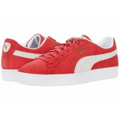 PUMA プーマ メンズ 男性用 シューズ 靴 スニーカー 運動靴 Suede Classic XXI High Risk Red/Puma White【送料無料】