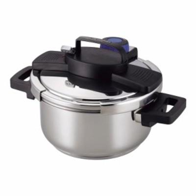 3層底ワンタッチレバー圧力鍋4.0L (H-5388) 単品