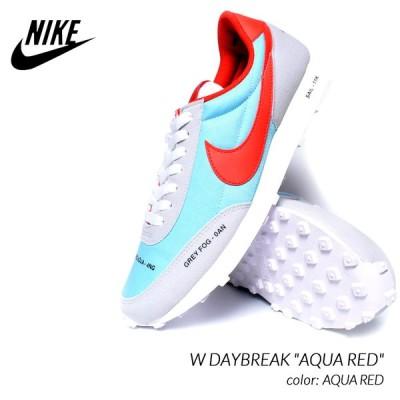 "NIKE W DAYBREAK ""AQUA RED"" ナイキ デイブレイク スニーカー ( メンズサイズ ウィメンズ 青 水色 CZ8699-460 )"