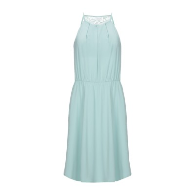 VILA ミニワンピース&ドレス ライトグリーン S ポリエステル 94% / ポリウレタン 6% ミニワンピース&ドレス