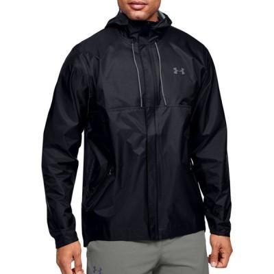 アンダーアーマー Under Armour メンズ フィットネス・トレーニング シェルジャケット ジャケット アウター Cloudburst Shell Jacket Black/Black