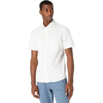 ファレティ Faherty メンズ 半袖シャツ トップス Short Sleeve Knit Seasons Shirt White