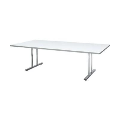生興 MTL-2412TW ホワイト  会議テーブル