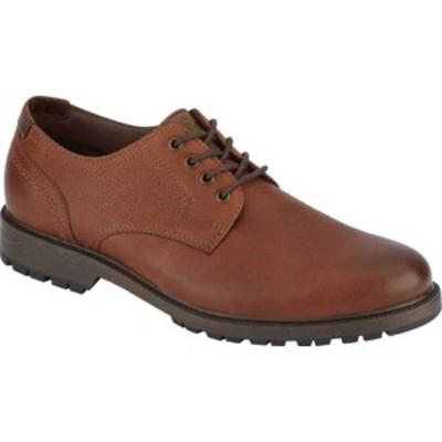 ドッカーズ メンズ ドレスシューズ シューズ Schaefer Waterproof Plain Toe Oxford Cognac Full Grain Leather