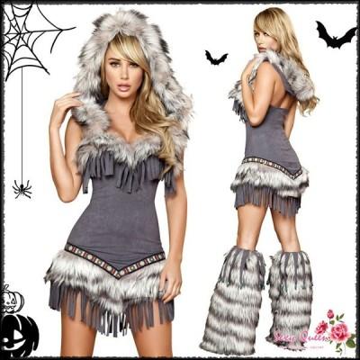 ハロウィン コスプレ 衣装 インディアン コスチューム ファンタジー かわいい セクシー