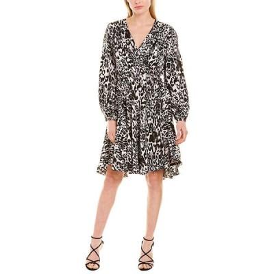 ミリー ワンピース トップス レディース Milly Gina A-Line Dress black & white animal print