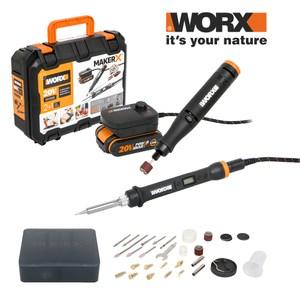 MakerX 系列 20V 電烙鐵+刻磨機(單電池+轉接器)WX988