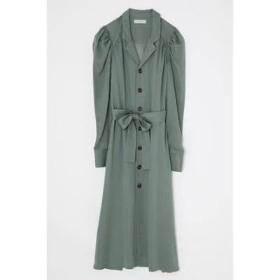 【M_】OPEN COLLAR ドレス