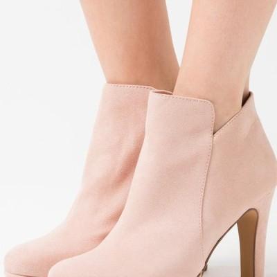 タマリス レディース ブーツ High heeled ankle boots - rose