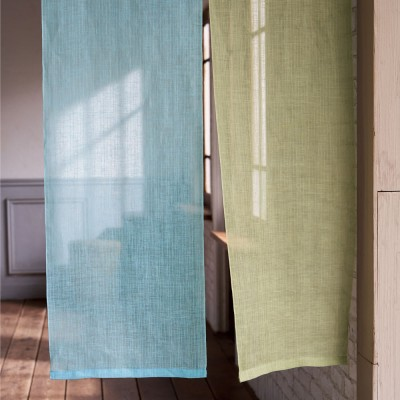 カーテン 敷物 ソファカバー のれん すだれ 京都のはごろものれん(1枚) 約幅45丈150 563901