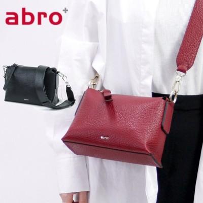 abro アブロ バッグ ショルダーバッグ 斜めがけバッグ ミニバッグ 本革 2way ブラック 黒 レッド 赤 レディース 029147-74