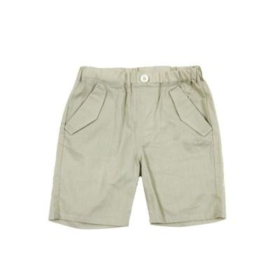 パンツ BeBe/ボイルポケット付きひざ丈パンツ(80〜100cm)