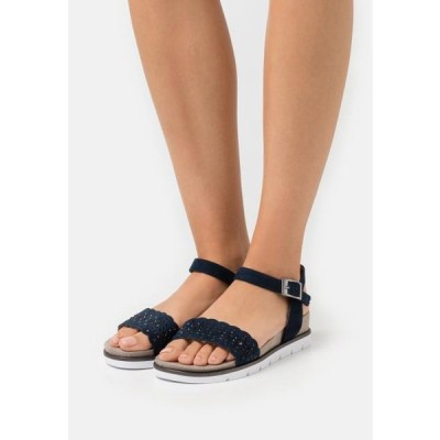 ジャナ レディース 靴 シューズ Wedge sandals - navy