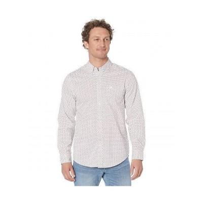 Dockers ドッカーズ メンズ 男性用 ファッション ボタンシャツ Long Sleeve Signature Comfort Flex Shirt - Paper White