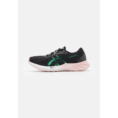 アシックス シューズ レディース ランニング ROADBLAST THE NEW STRONG - Neutral running shoes - graphite grey/ginger peach