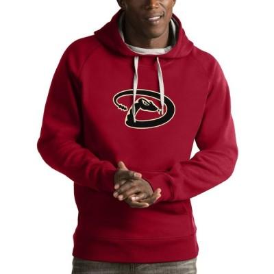 アリゾナ・ダイヤモンドバックス Antigua Victory Pullover Hoodie - Red
