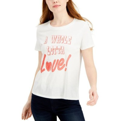 ジャンクフード レディース Tシャツ トップス A Whole Lotta Love T-Shirt