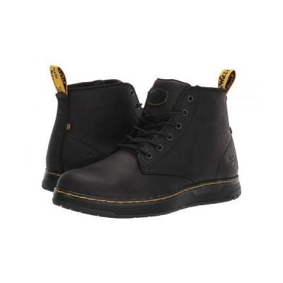 Dr. Martens Work ドクターマーチン メンズ 男性用 シューズ 靴 ブーツ ワークブーツ Ledger Steel Toe SD - Black/Black/Black/Black
