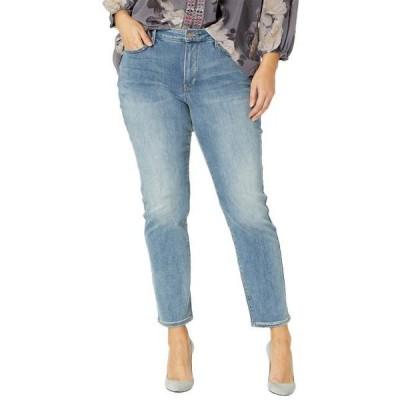 エヌ ワイ ディー ジェー ユニセックス パンツ Plus Size Sheri Slim Jeans in Clayburn