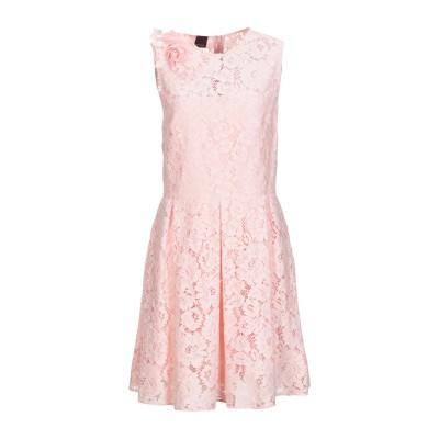 ピンコ PINKO ミニワンピース&ドレス ピンク 40 コットン 75% / ナイロン 25% ミニワンピース&ドレス