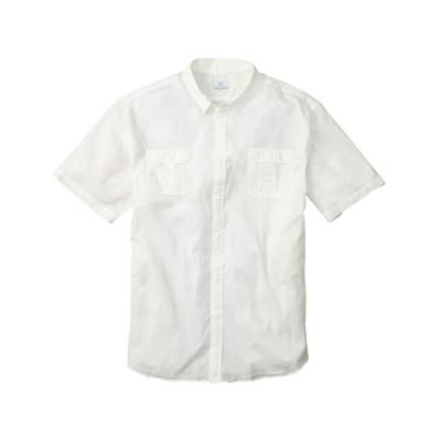 ミリタリーカラー半袖シャツ カジュアルシャツ, Shirts,
