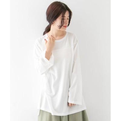 KBF/ケービーエフ サイドドロストロンTシャツ WHITE one