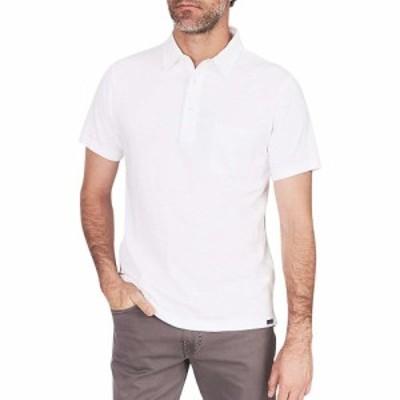 ファレティ Faherty メンズ ポロシャツ トップス sunwashed polo shirt White