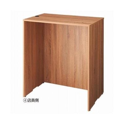 木製カウンターH100cm W90cm ラスティック